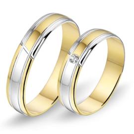 Alliance relatie en trouwringen 448 / 449