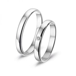 Alliance relatie en trouwringen L530