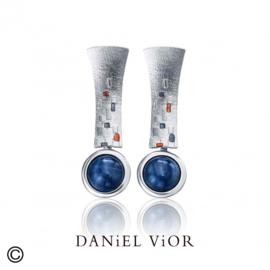 DANiEL ViOR Disthene Gray oorbellen