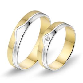 Alliance relatie en trouwringen 444 / 445