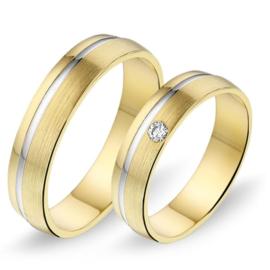 Alliance relatie en trouwringen 436 / 437