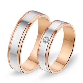 Alliance relatie en trouwringen 566 / 567