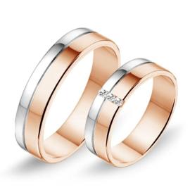 Alliance relatie en trouwringen 624 / 625