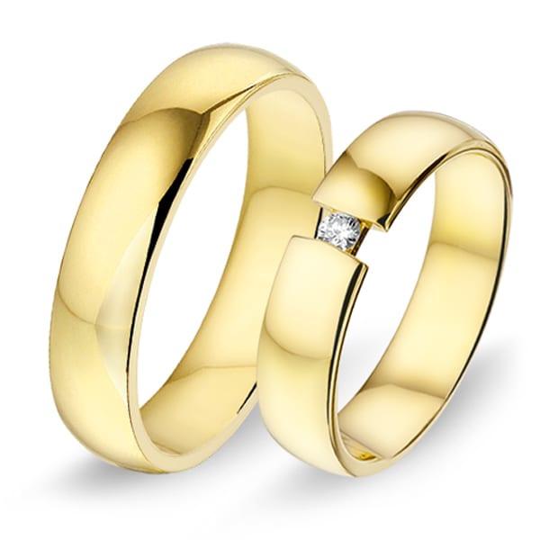 Alliance relatie en trouwringen 460 / 461