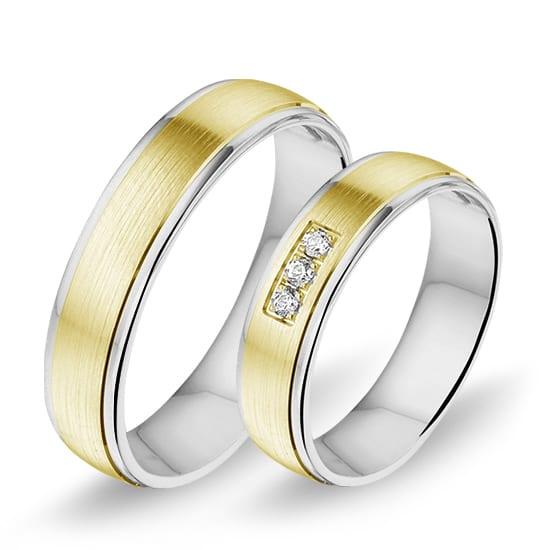 Alliance relatie en trouwringen 1208