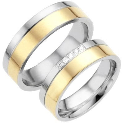 Alliance relatie en trouwringen STG624