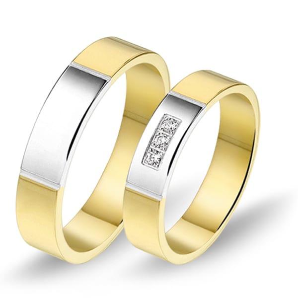 Alliance relatie en trouwringen 629 / 630