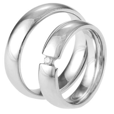 Alliance relatie en trouwringen 458 / 459