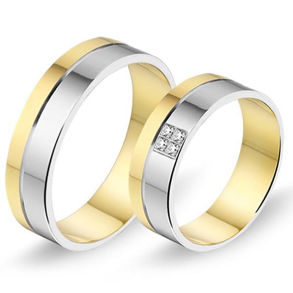 Alliance relatie en trouwringen 470 / 471