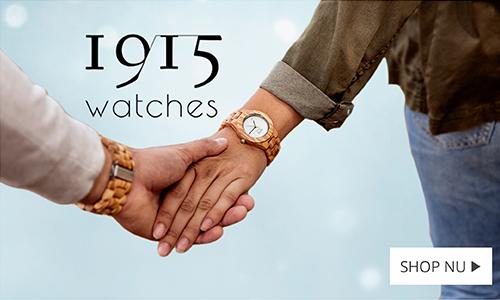 1915 houten horloges - Juwelier Wagenaar