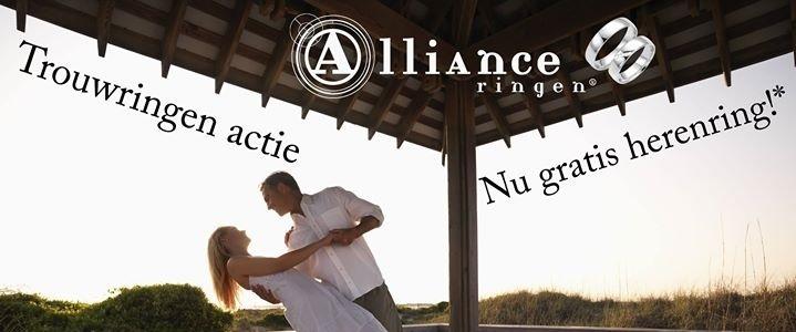 """Alliance ringen """"Gratis herenring"""""""