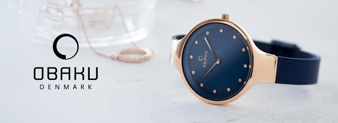Obaku Horloges - Juwelier Wagenaar