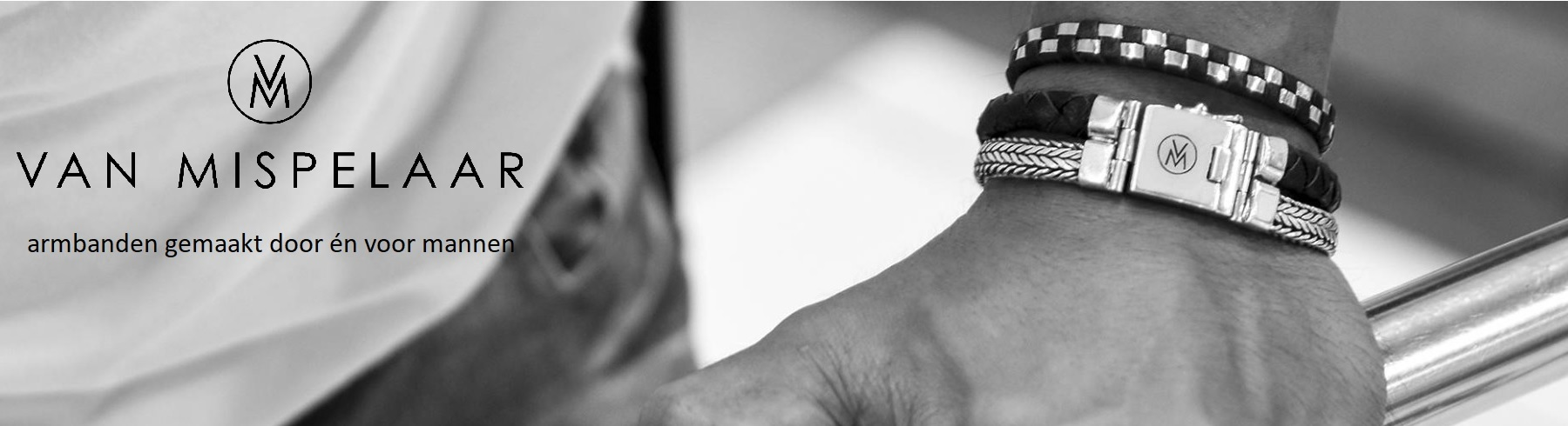 VAN MISPELAAR armbanden gemaakt door én voor mannen