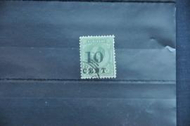 SURINAME 1898 NVPH 31 GEBRUIKT ++ Q 252