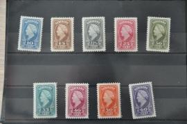 1945 NVPH 229-238  ++ M 026