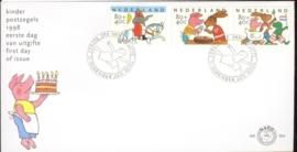 1998 NEDERLAND NVPH FDC E394 KIND