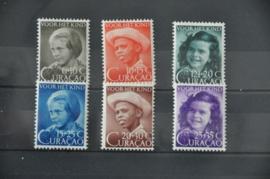 CURAÇAO 1948 NVPH 200-205 POSTFRIS ++ R 119