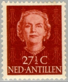 ANTILLEN 1950 NVPH SERIE 227 EN FACE JULIANA