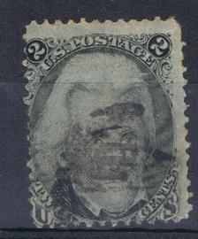 USA UNITED STATES 1861 MCHL 17  ++ C 187