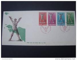 1963 FDC ZBL 379-82 LIBERATION IRIAN