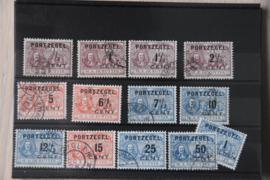 1907 PORT P31-43 GESTEMPELD ++ A 501