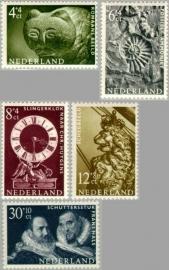 NEDERLAND 1962 NVPH SERIE 766 ZOMERZEGELS