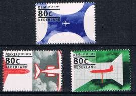 NEDERLAND 1994 NVPH 1605 VLIEGTUIG ++ B 529