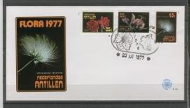 ANTILLEN 1977 FDC E104 FLORA