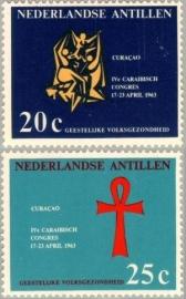 ANTILLEN 1963 NVPH SERIE 334
