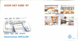 ANTILLEN 1997 FDC E286 KINDERZEGELS