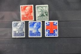 NEDERLAND 1927 NVPH 203-07 POSTFRIS ++ H 305