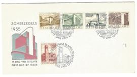 NEDERLAND 1955 FDC E21 ++ PH