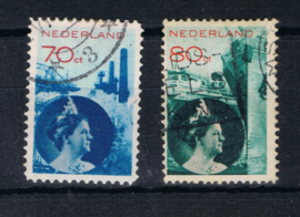 NEDERLAND 1931 NVPH 236-37 GEBRUIKT ++ L 469