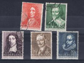 NEDERLAND 1947 NVPH 490-94 GEBRUIKT ++ A 526