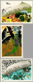 ARUBA 1990 NVPH SERIE 070 NATUUR EN MILIEU