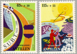 ANTILLEN 1990 NVPH SERIE 947 DRUGS