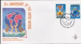 ARUBA 1995 FDC E 056 VN UN