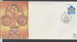 INDONESIË FDC SHP 1991-10