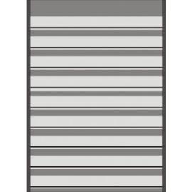 Mandor Insteekkaarten A4 291*210mm zwart 10 stuks