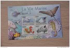 REP. BURUNDI VISSEN FISHES POISSONS ++ M1-12