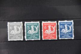 NEDERLAND 1929 NVPH R 82-85 POSTFRIS ++ B 492