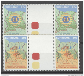 REP. SURINAME 1983 ZBL 354-355 BP A  ++ P 341