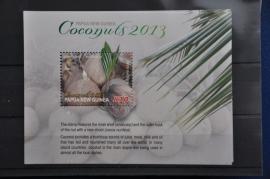 PAPUA NEW GUINEA 2013 KOKOSNOTEN ++ M 218