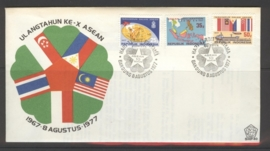 INDONESIË 1977 FDC 40