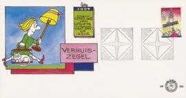 NEDERLAND NVPH FDC E359 VERHUIZEN