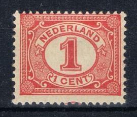 NEDERLAND 1899 NVPH 51 PLAK(REST) ++ K 132
