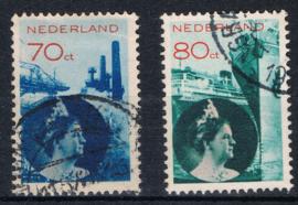 NEDERLAND 1931 NVPH 236-237 GEBRUIKT ++ G 478