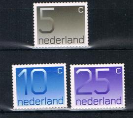 NEDERLAND 2001 NVPH 1108/9/10B ++ B 614