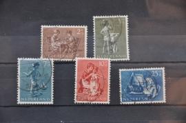 NEDERLAND 1954 NVPH 649-653 GEBRUIKT ++ J 82