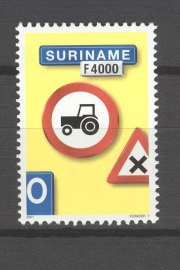 REP. SURINAME 2001 ZBL SERIE 1129